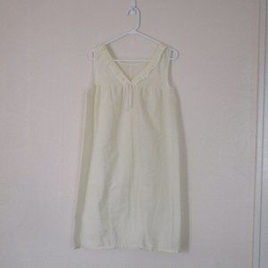 VTG Sears Yellow Cottagecore Nightgown, M